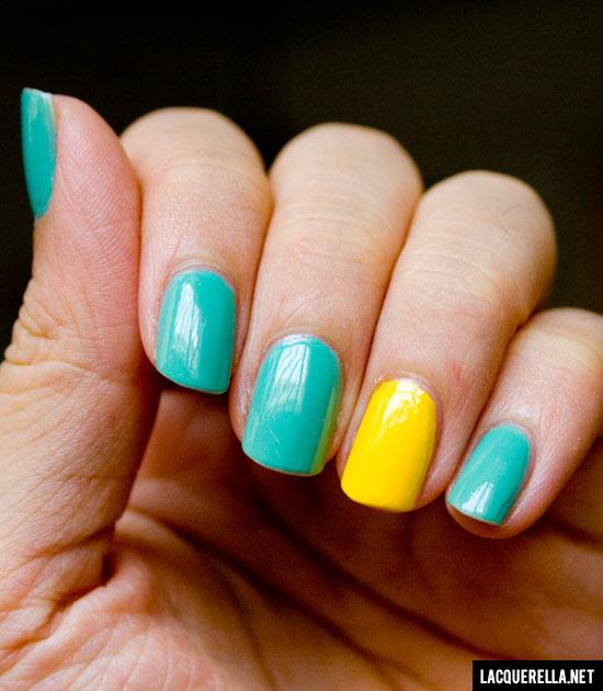 Бирюзовый маникюр - фото идей дизайна ногтей - Best Маникюр