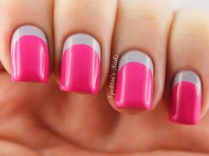 Grey_Neon_Pink_Ruffian_Nails_Essie_Lights_B