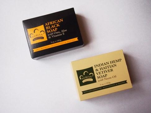 """Мое любимое мыло с iherb - """"Nubian Heritage"""" африканское черное мыло и зеленое мыло с ветивером."""