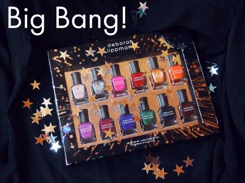 Набор лаков для ногтей Deborah Lippmann Big Bang Holiday 2013.