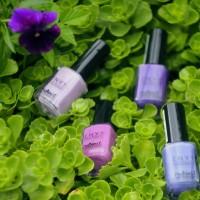 Маникюр омбре или градиентный дизайн ногтей в лиловых тонах вместе с ruNail Professional Envy.